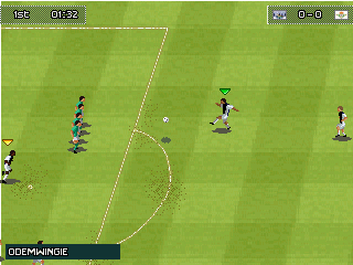 Game PES 2013 for Symbian S60v2 S60v3 and Java